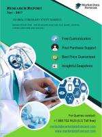 Global Coronary Stent Market Trends, And Forecasts(2016–2021)