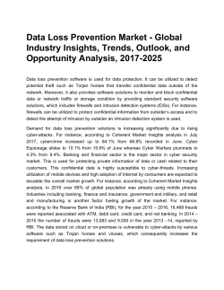 Data Loss Prevention Market