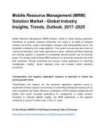 Mobile Resourse Management Solution Market