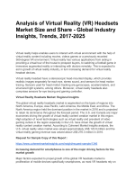 Virtual Reality (VR) Headsets Market