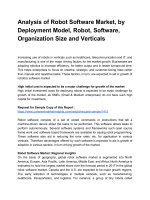 Robot Software Market