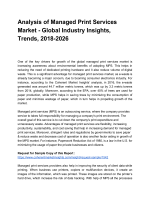 Managed Print Services Market