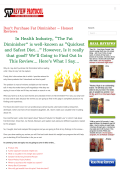 Fat Diminisher System PDF EBook Free Download