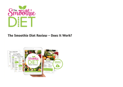 The Smoothie Diet PDF EBook Free Download