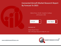 Connected Aircraft MarketConnected Aircraft Market Research Report – Forecast to 2023