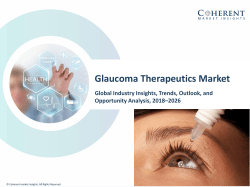 Glaucoma Therapeutics Market Clinical Review, Drug Descriptions, Analysis and Synthesis 2026