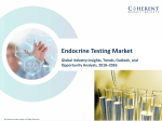 Endocrine Testing Market - Latest Advancements & Market Outlook 2018 to 2026