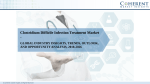 Clostridium Difficile Infection Treatment Market Growth, Size, Trends and Analysis, 2018-2026