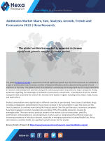 Antibiotics Market Size