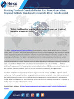 Global Fracking Fluid And Chemicals Market