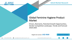 Feminine Hygiene Product Market Drivers & Growth, Demands and Forecast to 2025
