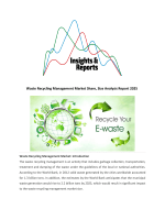 Waste Recycling Management Market Share, Size Analysis Report 2025