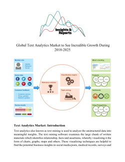 Global Text Analytics Market to See Incredible Growth during 2018-2025