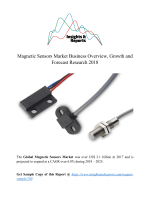 Magnetic Sensors Market Business Overview, Growth and Forecast Research 2018