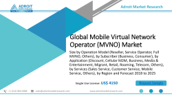 Global Mobile Virtual Network Operator (MVNO) Market Size To Be Worth More Than USD 100 Billion By 2025