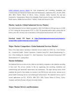 Global Industrial Services Market By Type