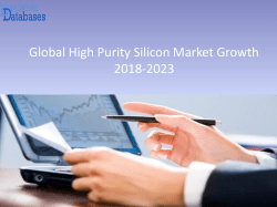 Global High Purity Silicon Market Growth 2018-2023