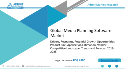 Global Media Planning Software Market Size, Price Outlook Report 2025