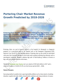 Portering Chair Market : To Witness Robust Expansion By 2026