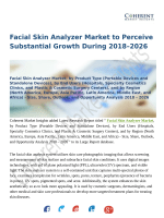 Facial Skin Analyzer Market: Moving Towards a Brighter Future 2018-2026