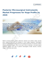 Posterior Microsurgical Instruments Market Progresses for Huge Profits by 2026