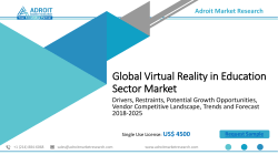 Virtual Reality in Education Sector Market 2019