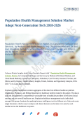 Population Health Management Solution Market showing Compound annual growth rate and forecast till 2026