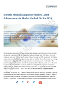 Durable Medical Equipment Market: Segmentation Application, Technology & Market Analysis Report 2018-2026