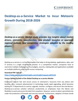 Desktop-as-a-Service Market