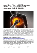 Acute Heart Failure (AHF) Therapeutics Market
