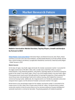Modular Construction Market Research Report - Forecast to 2023