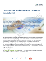 Lab Automation Market to Witness a Pronounce Growth by 2026