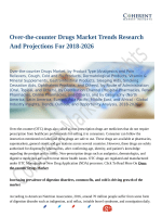 Over-the-counter Drugs Market Set for Rapid Growth and Trend, by 2026