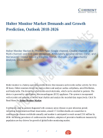 Holter Monitor Market Expansion to be Persistent During 2018 – 2026
