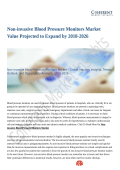 Non-invasive Blood Pressure Monitors Market Value Projected to Expand by 2018-2026
