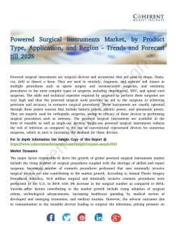 Powered Surgical Instruments Market