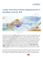 Cardiac Assist Devices Market Prognosticated For A Ravishing Growth By 2026