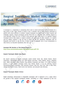 Surgical Tourniquets MarketSurgical Tourniquets Market Top-Players And Qualitative Future Analysis 2026