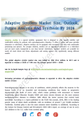 Adaptive Strollers Market to Witness Heightened Growth During the Period 2018 – 2026