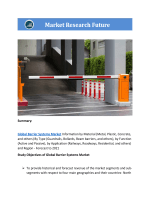 Global Barrier Systems Market