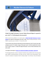 Global Ultra-high performance concrete market