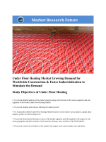 Under Floor Heating Market