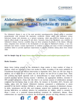 Alzheimer's Drugs Market Consumption Analysis By Latest Trend, Drivers And Challenges 2025