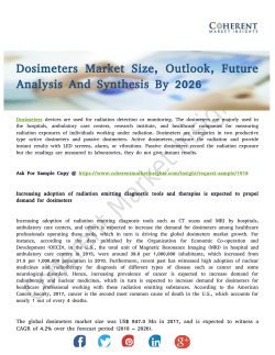 Dosimeters Market Seeking Growth from Emerging Study Drivers 2026