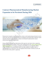 Contract Pharmaceutical Manufacturing Market Poised to Take Off by 2026