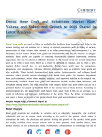Dental Bone Graft and Substitutes Market