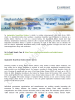 Implantable Bioartificial Kidney Market Expected Major Development To Be Observed Across 2026