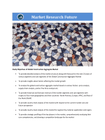 Global Construction Aggregate Market Research Report - Forecast to 2021