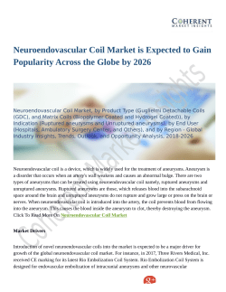 Neuroendovascular Coil Market Is Booming Across the Globe Explored in Latest Research 2018-2026