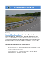 Crash Barrier Systems Market Research Report - Forecast to 2021